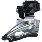 Shimano Deore FD-M6025-H 10-Speed Double Down Swing Dual-Pull High Clamp Front Derailleur
