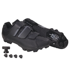 Serfas Men's Singletrack 3-Strap Mountain Shoes Black SMM-401B