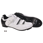 Serfas Men's Leadout Buckle Road Shoes White SMR-501W