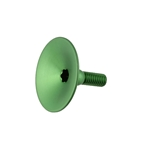 Absolute Black Integrated Top Cap, Green