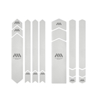 All Mountain Style Honeycomb Frame Guard XXL, Clear/silver