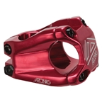 Azonic Barretta II Stem, (31.8) 40mm - Red