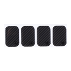 Bike Armor Frame Shield Cable Rub Frame Protectors, Carbon  4 Pack