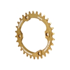 Blackspire Snaggletooth Oval NW Chainring, XT 96BCD 30t - Gold