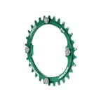 Blackspire Snaggletooth 104BCD Oval NW Ring, 30t - Lime Green