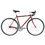 Detroit Bikes C-Type Complete Bike, Candy Apple - L/XL