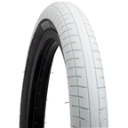 "Sunday Street Sweeper Tire 20 x 2.4"" White with Black Side Wall"