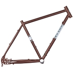 New Albion Cycles Drake Disc Frame, 56cm - Brown