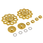 Kogel Bearings Not For Instagram Derailleur Pulleys, 11sp - Gold