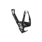 Elite Cannibal XC Bottle Cage, Black Glossy - White Graphic