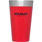 Stanley Stainless Steel Pint Glass, 16oz - Flannel Red