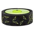 Supacaz Super Sticky Kush Bar Tape, Starfade Black and Yellow