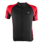 Aerius Road Cycling Jersey - Black/Red