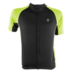 Aerius Road Cycling Jersey - Black/Hi-Vis Yellow
