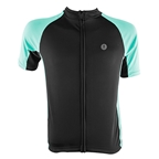 Aerius Road Cycling Jersey - Black/Mint