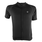 Aerius Road Cycling Jersey - Black