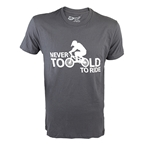 DHDwear Never Too Old T-Shirt - Gray