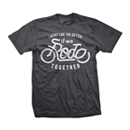 DHDwear Rode Together T-Shirt - Heavy Metal Gray