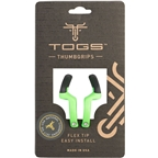 TOGS Green Flex Thumb Grips