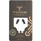 TOGS White Flex Thumb Grips