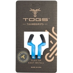TOGS Blue Flex Thumb Grips