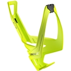 Elite Cannibal XC Water Bottle Cage: Yellow Flou/Black Graphic