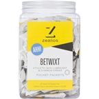 Zealios Betwixt Athletic Skin Lubricant and Chamois Cream: 10ml single use packets, Tub of 100