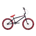 "Stolen 2019 Casino 20"" BMX Bike Black/Red Tie Dye"