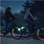Nite Ize SpokeLit Disc-O Select: Each, Multi-Color LED