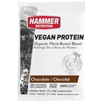 Hammer Vegan Protein Powder Drink Mix: Chocolate 12 Single Serving Packets