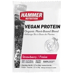 Hammer Vegan Protein Powder Drink Mix: Strawberry 12 Single Serving Packets