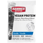 Hammer Vegan Protein Powder Drink Mix: Vanilla 12 Single Serving Packets