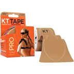 KT Tape Pro Kinesiology Therapeutic Body Tape: Roll of 20 Strips, Stealth Beige