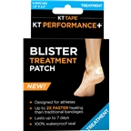 KT Tape Performance Blister Treatment Patch: Box of 6 Patches, Beige