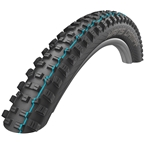"Schwalbe Hans Dampf Tire: 29+ x 2.6"", Folding Bead, Evolution Line, Addix Speed Compound, SnakeSkin, Tubeless Easy, Apex, Black"