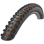 "Schwalbe Hans Dampf Tire: 27.5 x 2.35"", Folding Bead, Evolution Line, Addix Soft Compound, SnakeSkin, Tubeless Easy, Black"