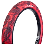 "Fiction Atlas Tire 20 x 2.4"" HP Red/Black"