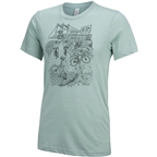 All-City 10th Anniversary Men's T-Shirt: Blue