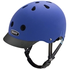 Nutcase Little Nutty MIPS Child Helmet: Blue Bubbles Matte, XS