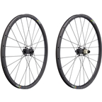 "Ritchey WCS Carbon Vantage Wheelset: 27.5"", Boost 110x15mm Front, 148x12mm Rear Thru-Axle, SRAM XD, Centerlock, Tubeless, Black"