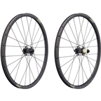 "Ritchey WCS Carbon Vantage Wheelset: 27.5"", Boost 110x15mm Front, 148x12mm Rear Thru-Axle, Shimano 11, Centerlock, Tubeless, Black"