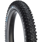 "Vee Tire Co. Snow Avalanche Studded Fat Bike Tire: 26 x 4"" 120tpi Folding Bead Silica Compound, Tubeless Ready, Black"