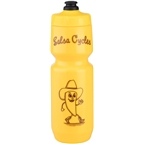 Salsa Purist Water Bottle: 26oz, Pepperman Mustard, Yellow