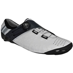 BONT Helix Road Cycling Shoe: White/Charcoal