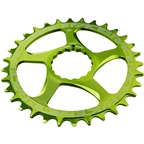 RaceFace Narrow Wide Chainring: Direct Mount CINCH, 32t, Green
