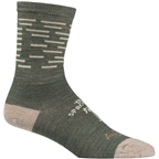 All-City Team Space Horse Sock: Tan/Green SM/MD