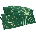 All-City Team Space Horse Bandana: Green