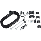 Pinhead City Lock Ultimate Kit: City Lock, Wheel Skewer Lock Set, Seatpost Lock, Headset Cap Lock