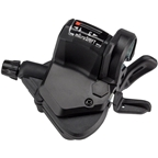 microSHIFT Mezzo Left Thumb-Tap Shifter, Triple, Optical Gear Indicator, Shimano Compatible