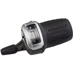 microSHIFT DS85 Right Twist Shifter, 8-Speed, Optical Gear Indicator, Shimano Compatible